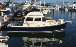 SOLD – 28′ 1986 Ellis Flybridge Cruiser Thumbnail Image