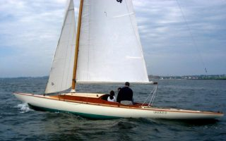SOLD – 39′ 1930 30 Square Meter Sloop Thumbnail Image
