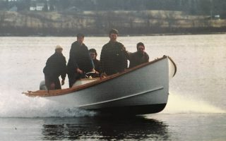 SOLD – 18′ Alton Wallace West Point Skiff Thumbnail Image