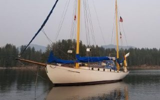 SOLD – 32′ 1932 Custom Coolidge Puget Sound Gaff Yawl Thumbnail Image