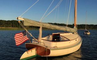 SOLD – 18′ 1987 Fenwick Williams Catboat Thumbnail Image