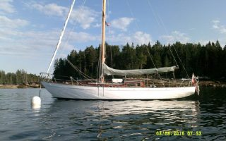 SOLD – 33′ 1955 Laurent Giles Brittany Class Thumbnail Image