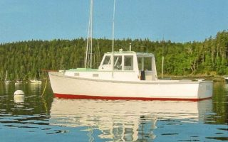 SOLD – 28′ 1963 Robert Rich Downeast Lobster Boat Thumbnail Image