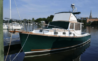SOLD – 34′ 1986 Wilbur 34 Flybridge Thumbnail Image
