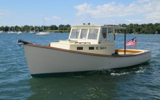 SOLD – 28′ Lobster Yacht Thumbnail Image