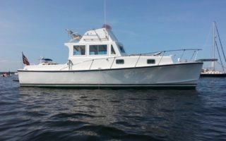 SOLD – 34′ 1965 Webbers Cove 34 Downeast Flybridge Thumbnail Image