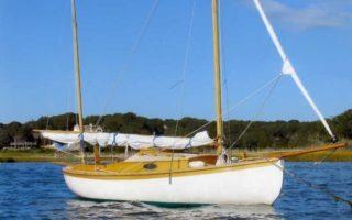 "SOLD – 18'6″ Bill Garden ""Eel"" Canoe Yawl Thumbnail Image"