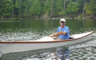 SOLD – 16′ Plywood/Dacron Kayak Thumbnail Image