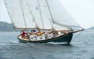 SOLD – 41′ 1968 Gaff Schooner by Ray Stevens Thumbnail Image